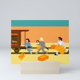 How Can A Train Be Lost? Mini Art Print