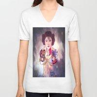princess leia V-neck T-shirts featuring Leia by Artistic