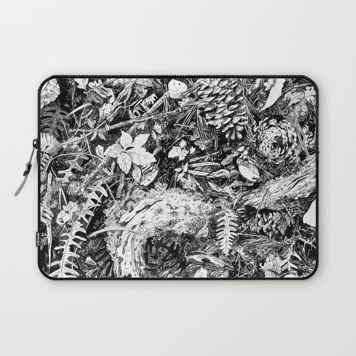 Inky Undergrowth Laptop Sleeve