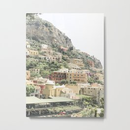 Italian Mountainside Metal Print