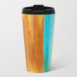 Gold Streak Travel Mug
