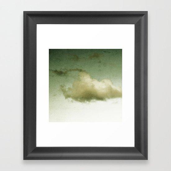 lonely guy Framed Art Print
