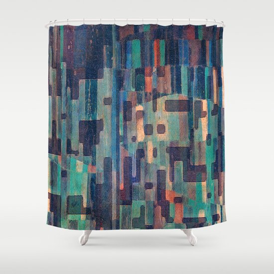 Night in the African Savannah Shower Curtain