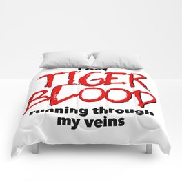 Tiger Blood Comforters