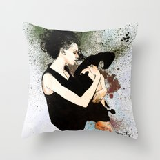 J Anne III Revisited Throw Pillow