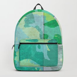 Tiled abstract Backpack