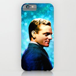 James Cagney, blue screen iPhone Case