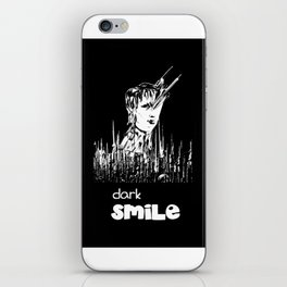 Dark Smile iPhone Skin