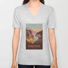 Tuktut Nogait National Park Unisex V-Neck