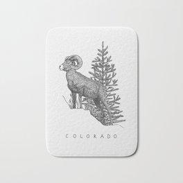 COLORADO STATE Bath Mat