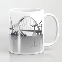 Brasilia city skyline Coffee Mug