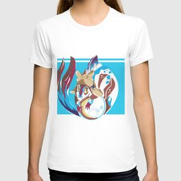 Fish Dragon Vector T-shirt