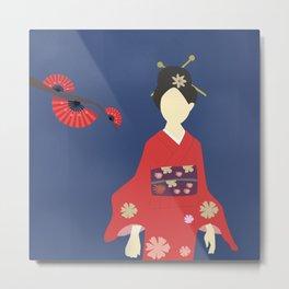 Japanese Cherry Blossom Metal Print