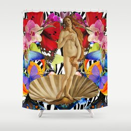 Floralia Botticelli Shower Curtain