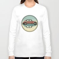 bug Long Sleeve T-shirts featuring love bug by Vin Zzep
