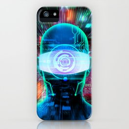 Vision 2077 iPhone Case