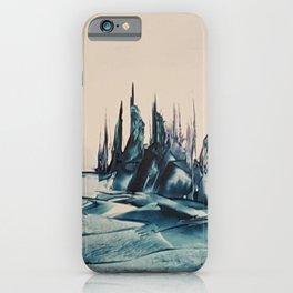 Green Alienscape iPhone Case