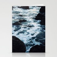 salt water Stationery Cards featuring Salt Water Study II by Teal Thomsen Photography