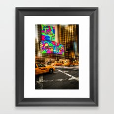 New York - Van Wagner Framed Art Print