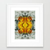 bees Framed Art Prints featuring bees by Abraham Cervantes