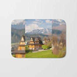 village in Tatra Country Bath Mat