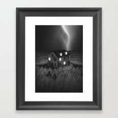 Something's Gonna Happen Framed Art Print