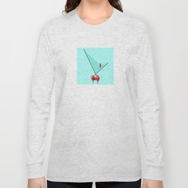 A Bird in May for May - shoes stories Long Sleeve T-shirt