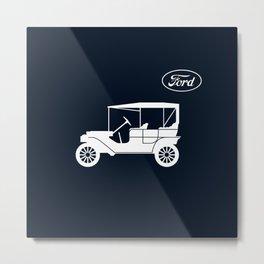 Ford Model T Metal Print