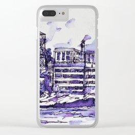 ALCATRAZ ISLAND Clear iPhone Case