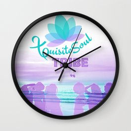 XQuisite Soul Tribe Wall Clock