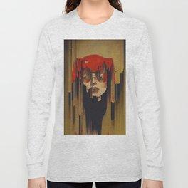 glitch art Long Sleeve T-shirt