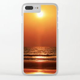 Goa Sunset Clear iPhone Case