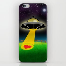 Love Abduction iPhone Skin