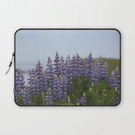 Lupine Flowers Photography Print Laptop Sleeve
