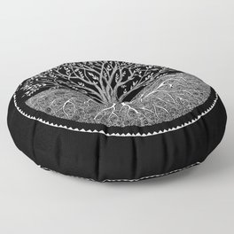 Druid Tree of Life Floor Pillow