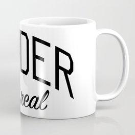 Gender Isn't Real - Non Binary Print Coffee Mug