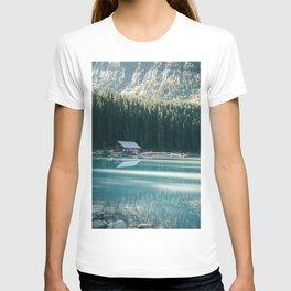 Lake Louise Canoes T-shirt