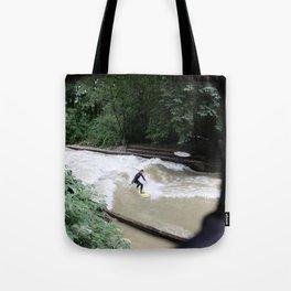 Perpetual Surfer Tote Bag