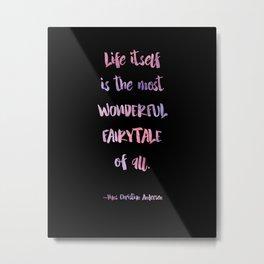 Wonderful Fairytale 2 Metal Print