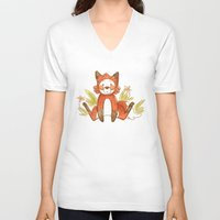 relax V-neck T-shirts featuring Relax by Pencil Box Illustration