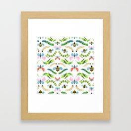 Caterpillars Framed Art Print