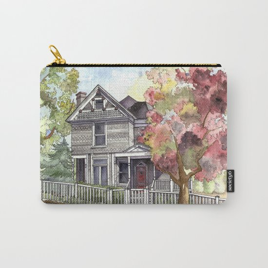 Springtime in the Country Carry-All Pouch