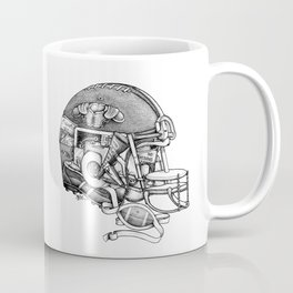 Football Helmet Coffee Mug