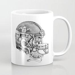 Football Helmet Coffee Mug