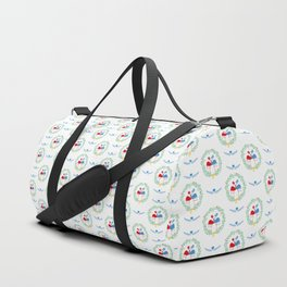 FlamingosTangled in Love Duffle Bag