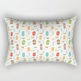 Lovely monsters - Fabric pattern Rectangular Pillow