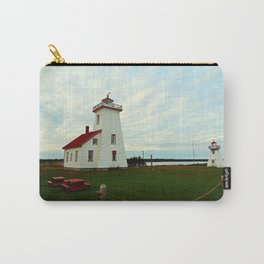 Lighthouse and Range Light of Wood Islands Carry-All Pouch