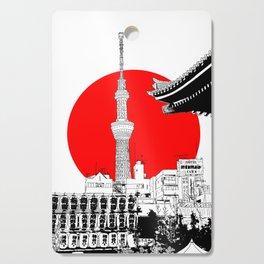 tokyo skytree red dot 1 Cutting Board