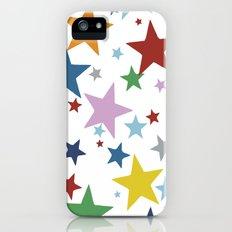 Stars Multi iPhone (5, 5s) Slim Case