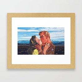 I was Waiting for You Framed Art Print